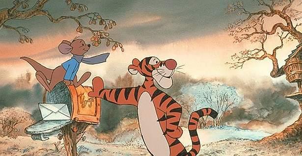 Tygrys i przyjaciele. Uroczy ale smutny