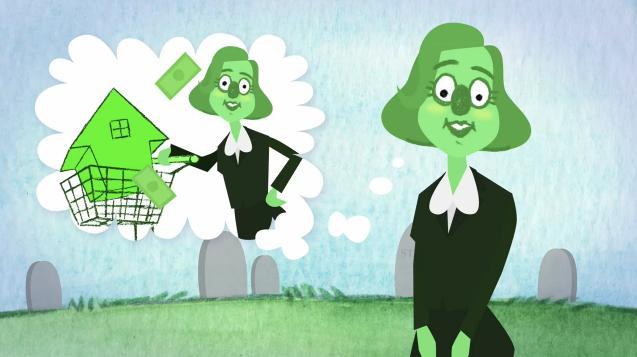 Jak Amerykanie, animacją tłumaczą kryzys