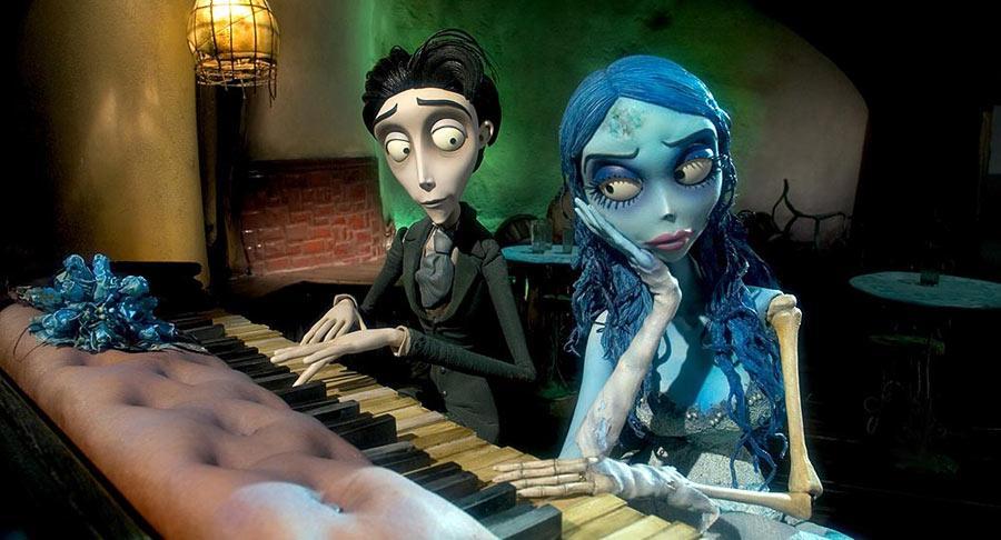 Gnijąca Panna Młoda - reż. Tim Burton