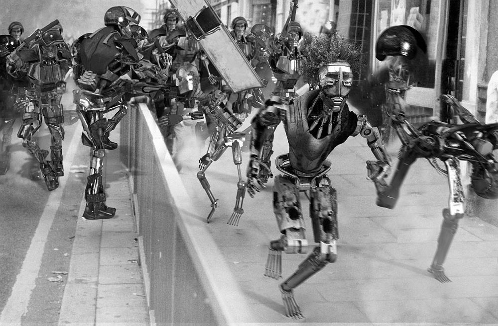 Robots of Brixton - Kibwe Tavares - animacja (cyberpunk)