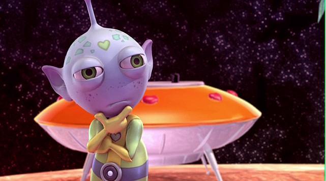 Przygody kosmity, któremu zachciało się hamburgerów