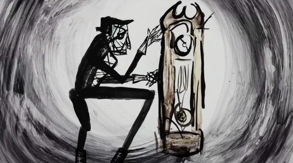 Neil Gaiman i 13 zegarów (18+)