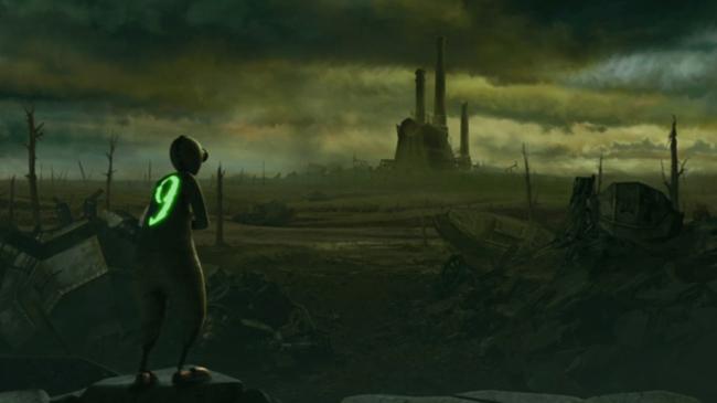 9 - animowana apokalipsa Tima Burtona