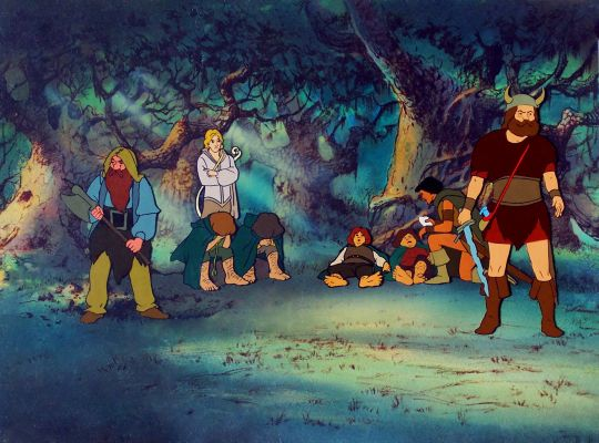 animowany Władca Pierścieni 1978 rok