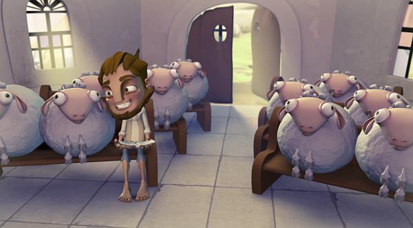Owieczki Boże - animacja
