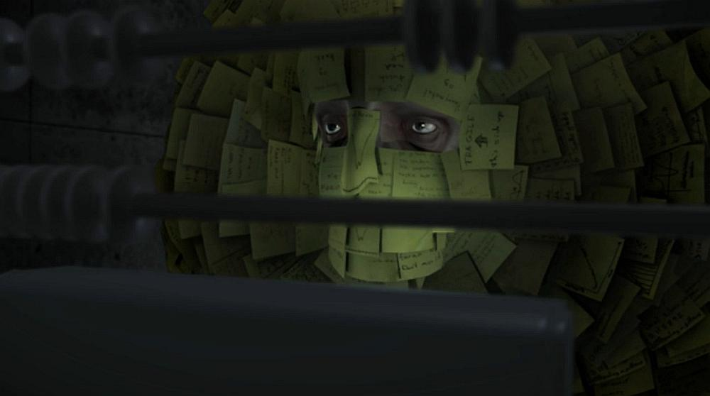 Load - David R. Christensen - animacja (cyberpunk)