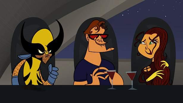 Animowani Avengers!