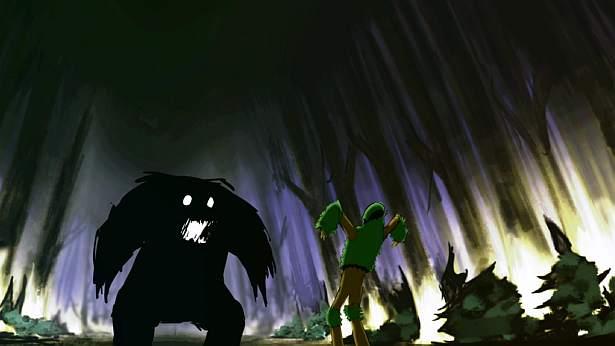Bestia kontra duch drzewa