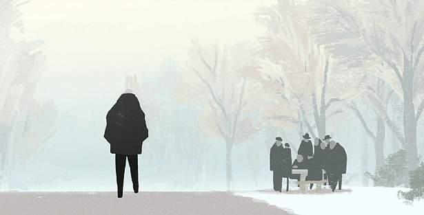 Zima. Cisza i spokój końca życia