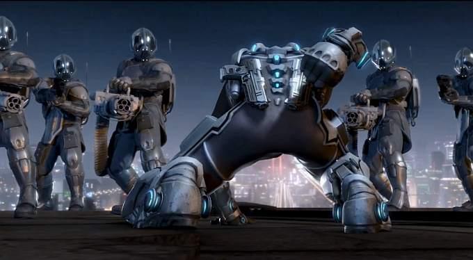 Azureus Rising - futurystyczna jatka