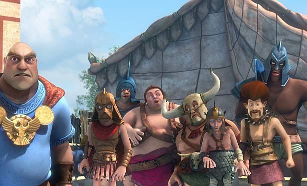 Prawie jak Gladiator - scenariusz i postacie
