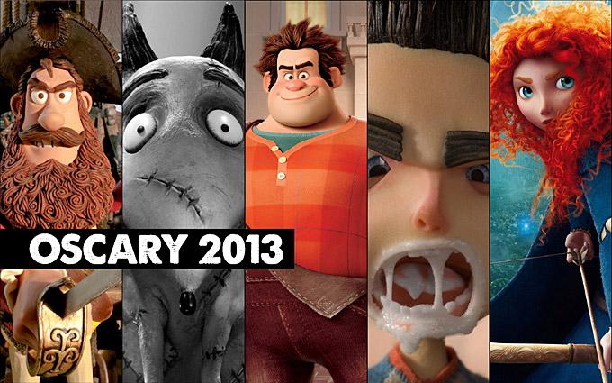 Oscary 2013: nominowane filmy animowane