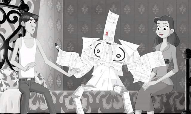 Paperman - parodia
