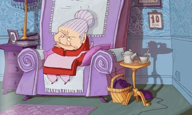 Nie przeszkadzaj babci!