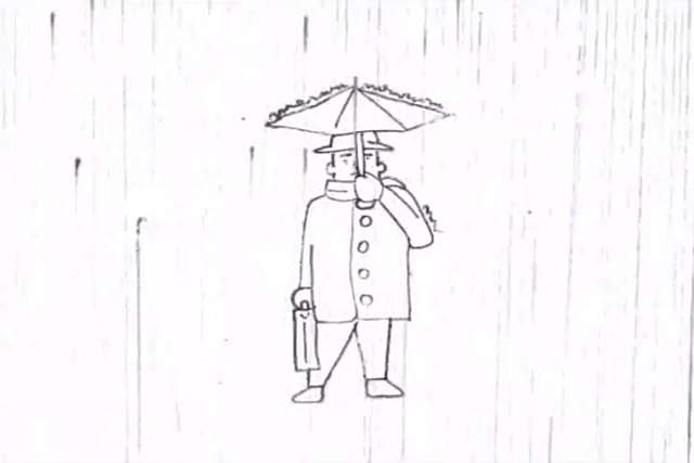 Szkicując deszcz