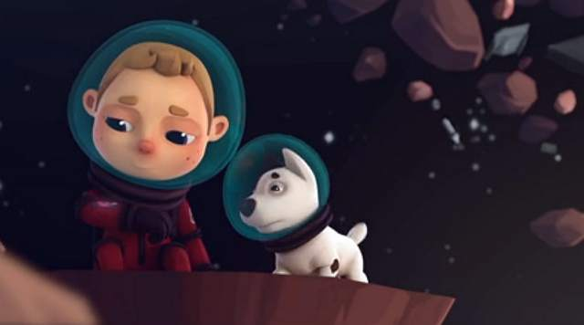 Pies - kosmiczny kumpel