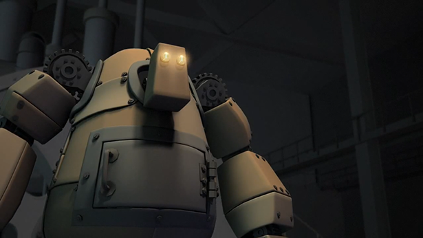 Dziewczynka i robot