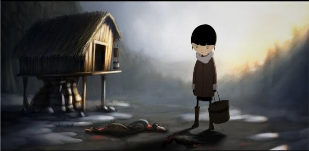 dziewczynka i lis