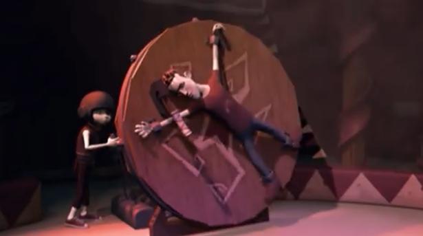 Miękki akrobata