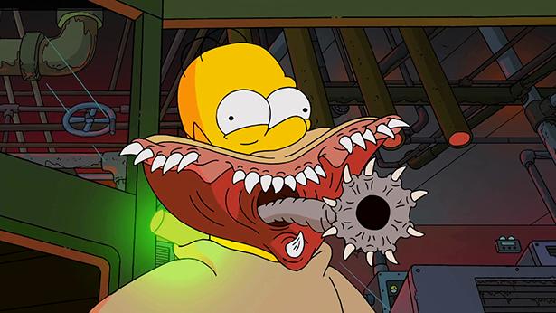 Horror w rodzinie Simpsonów