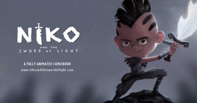 Niko i miecz światła (animowany komiks)
