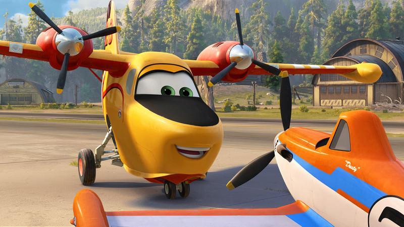 Samoloty 2 - film animowany