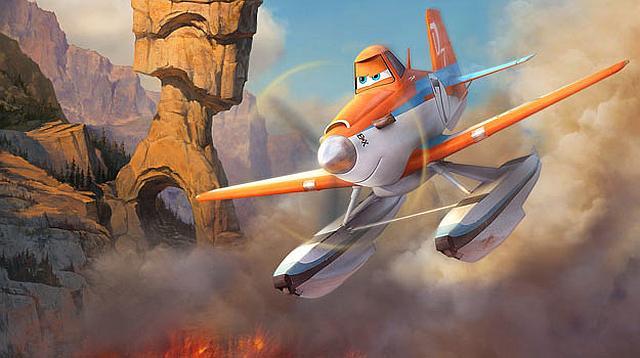 Samoloty 2 – strażakiem być!