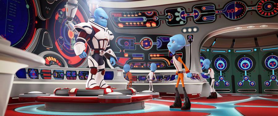 Rodzinka nie z tej Ziemi - film animowany - komedia / science-fiction