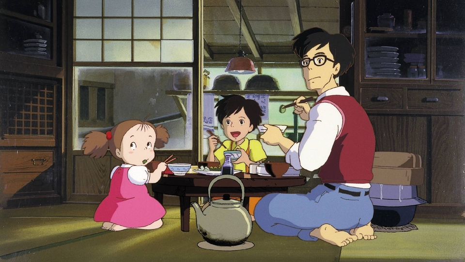 Mój sąsiad Totoro - anime