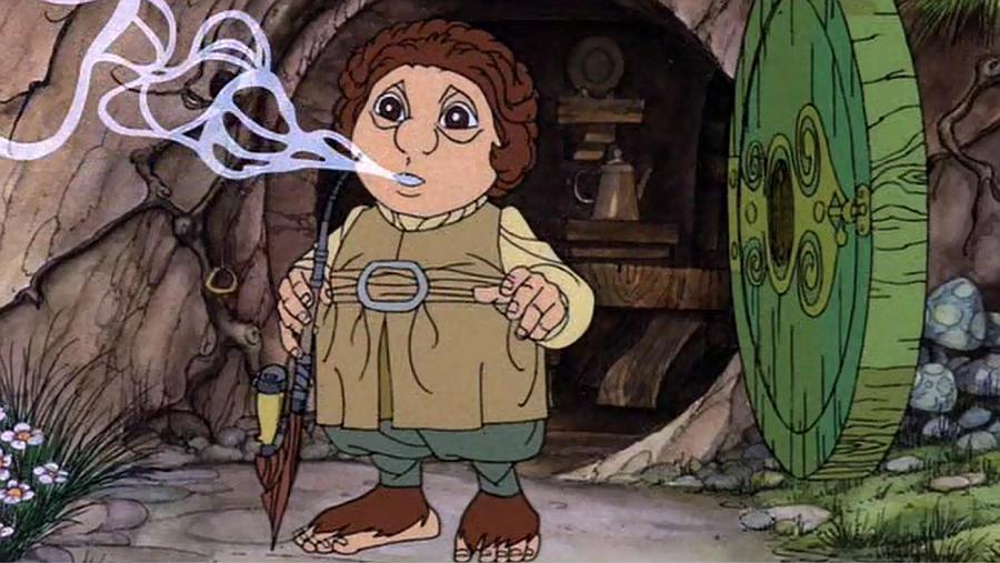 Animowany Hobbit