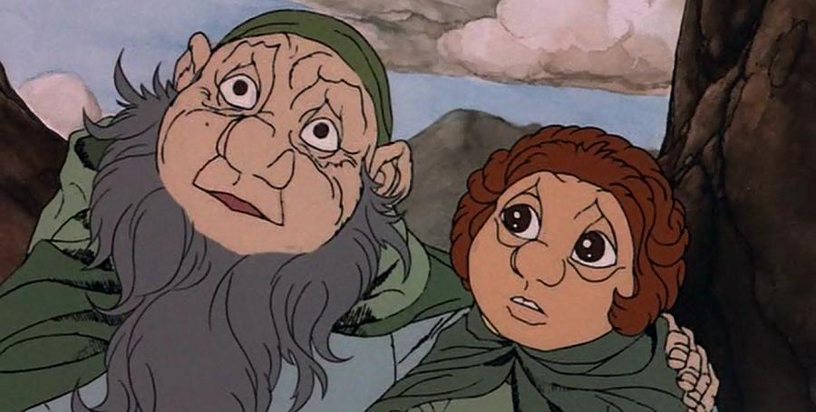Hobbit, czyli tam i z powrotem - film animowany (1977)