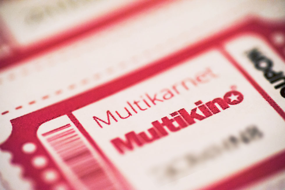 6 wejściówek do Multikina (konkurs)