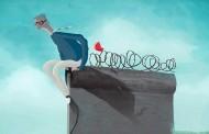 Krótka reklama o upadku muru berlinskiego