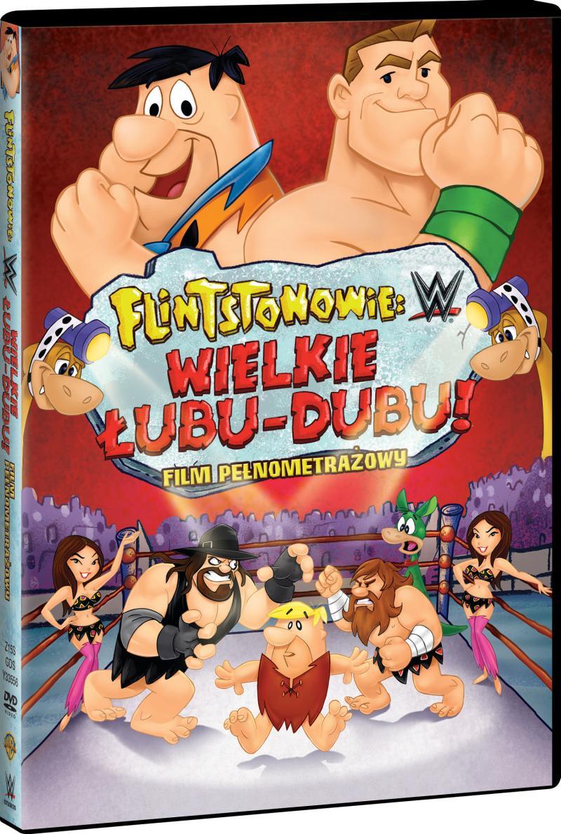 FLINTSTONOWIE LUBU-DUBU DVD 3D