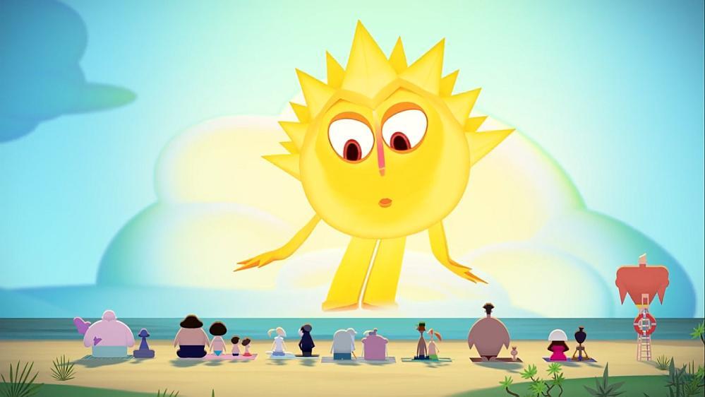 Zdrowo rozrabiające Słońce