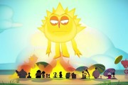 Słońce rozrabia