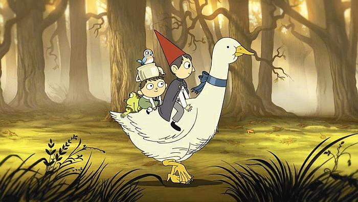 Over the Garden Wall - Za bramą ogrodu - serial animowany