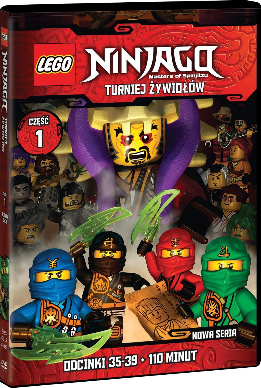 Lego Ninjago Turniej żywiołów Animacja Online