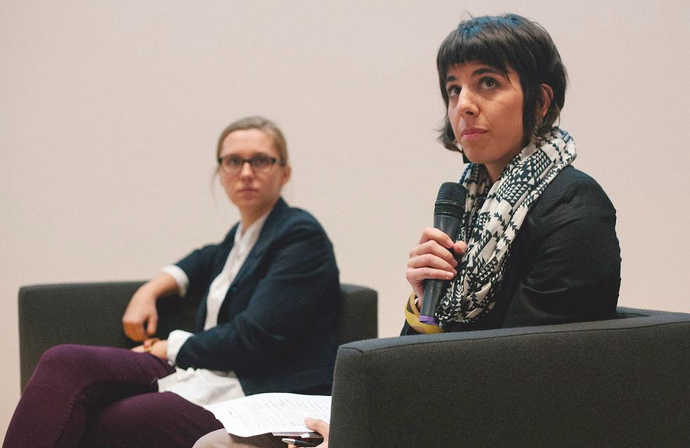 od lewej: Natalia Kaniak, Anna Ida Orosz