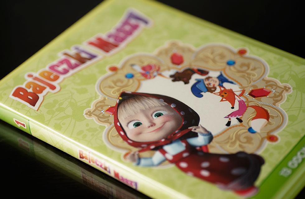 Bajeczki Maszy - część 1 (DVD)