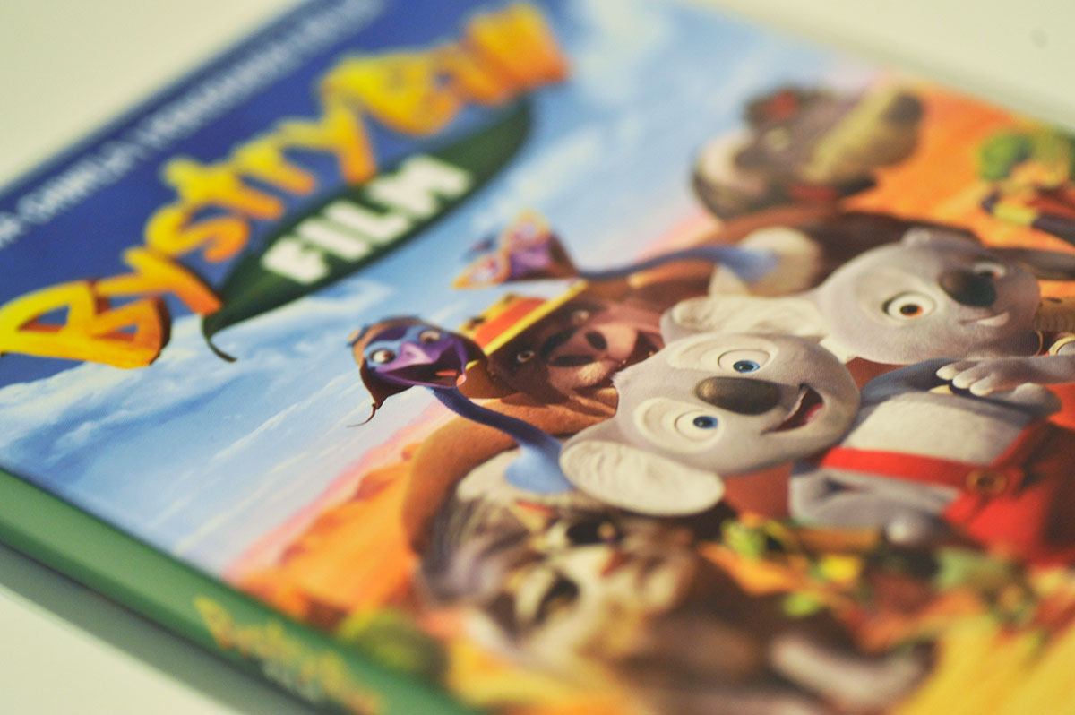 Bystry Bill Film - animowacja 3D (2015, DVD)